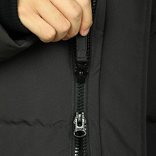 double way zipper