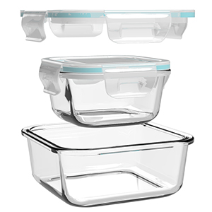 square glass containers with lids glass tupperware set glass food storage containers