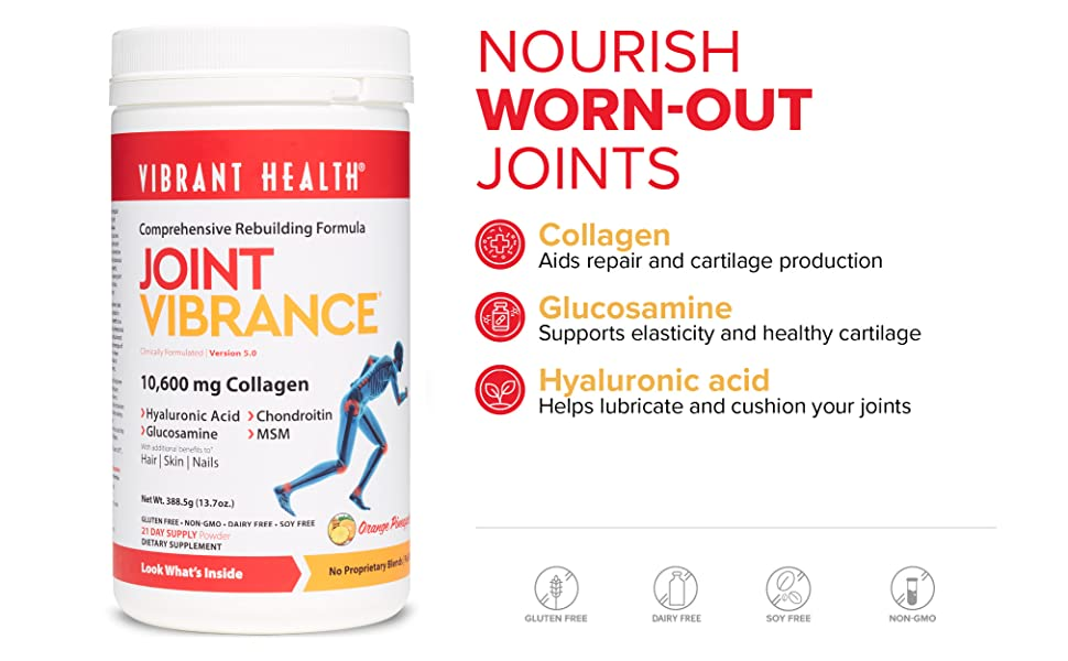 Nourish worn-out joints