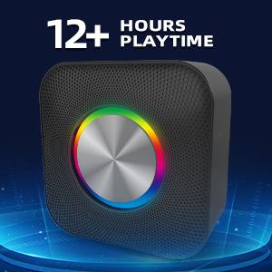 Long Playtime bluetooth speaker