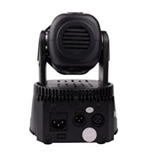 Betopper 7x8W LED Spot Stage Light DMX Mini Moving Head Lighting 4 in 1 RGBW Strobe Light Dj Light