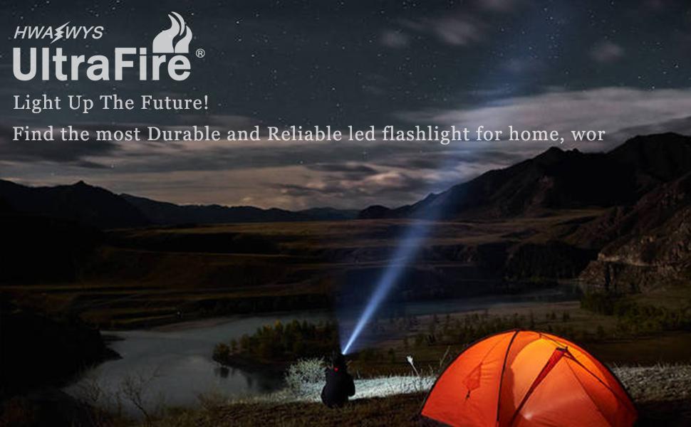 UltraFire flashlight