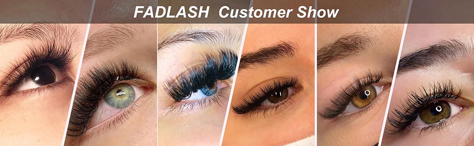 easy fan lashes