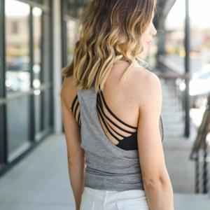Sexy X-Rücken Design