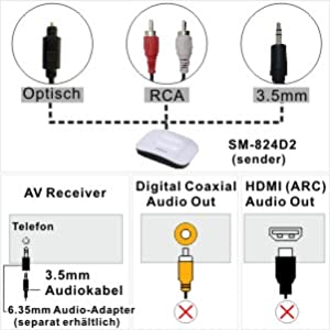 Multiple Audio Out Ports