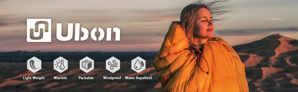 Ubon 15F Warmth Sleeping Bag