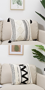 20x20 bed 18 x living room kitchen case large sofa chair soft boho texture fabric fuzzy hug adults