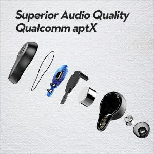 aptx true wireless aptx earbuds qualcomm aptx wireless earbuds bluetooth bass earbuds