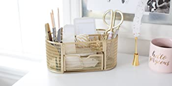 Gold Office Accessories