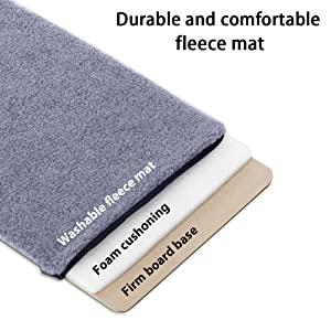 fleece mat
