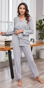 Maternity pajamas set for women