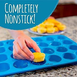 Silicone Muffin Pans are completely Nonstick, non-stick, non stick