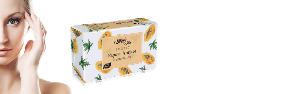 mirah belle sulfate and paraben free papaya apricot soap for men and women