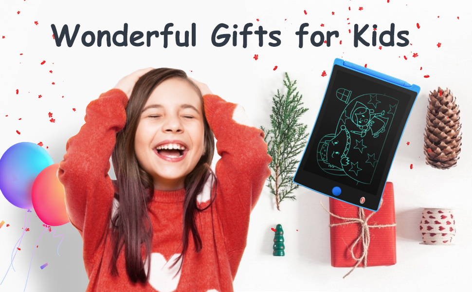 lcd writing tablet doodle board toys gifts for 2 3 4 5 6 12 year old girls birthday gift and toys