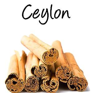 organic natural ceylon cinammon cinnamomum verum spice healthy supplements diet herbal superfood raw