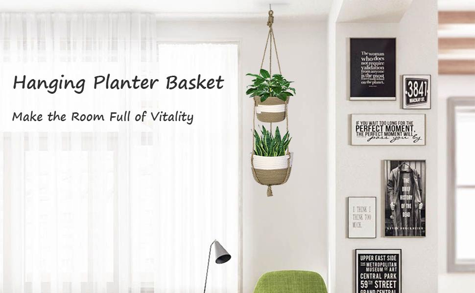 Hanging Planter Basket