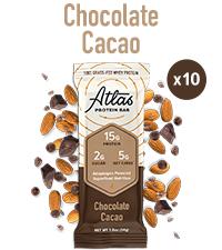 Chocolate Cacao Atlas Bar