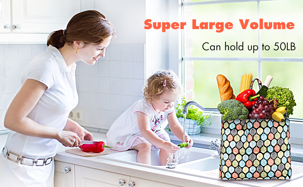 washable shopping bags