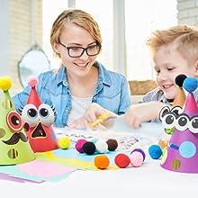 parent kid mother child bonding activity craft boys
