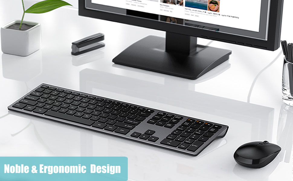 Slim Keyboard and Mouse