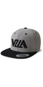 VZLA heather black hat