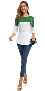 casual blouses for women long sleeve