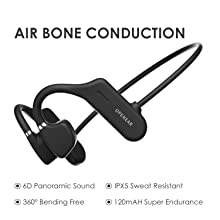AS4 Air Bone Conduction Bluetooth Headset