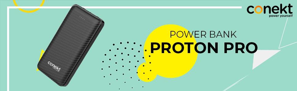 Conekt Zeal Proton Pro Fast Charging Powerbank