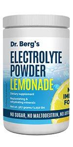 Electrolte Powder Lemonade Plus