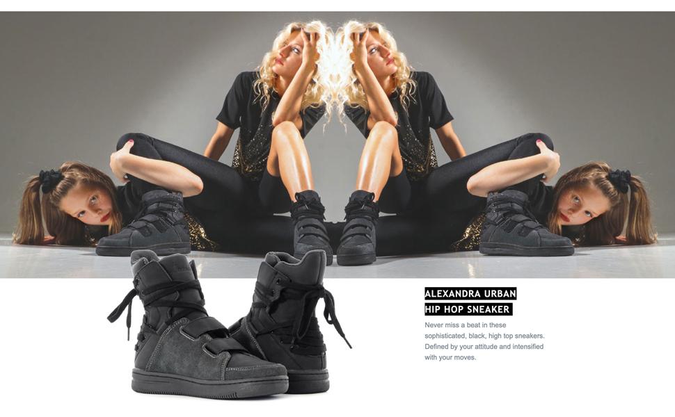 Black Lace Up Sneakers, Black Tennis Shoe, Lace Up High Top Sneakers, Black Suede Sneaker