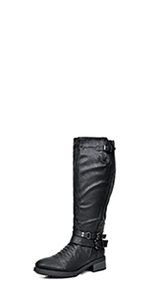 Dream pairs women girl fashion thigh high over the knee boots for women