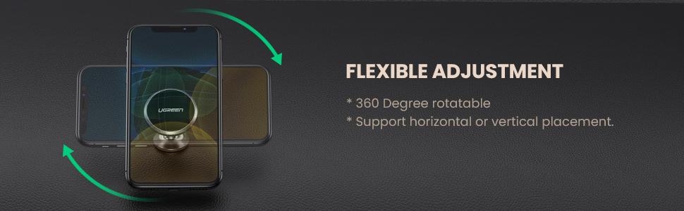 Car Phone Holder Magnetic Dashboard Mobile Mount