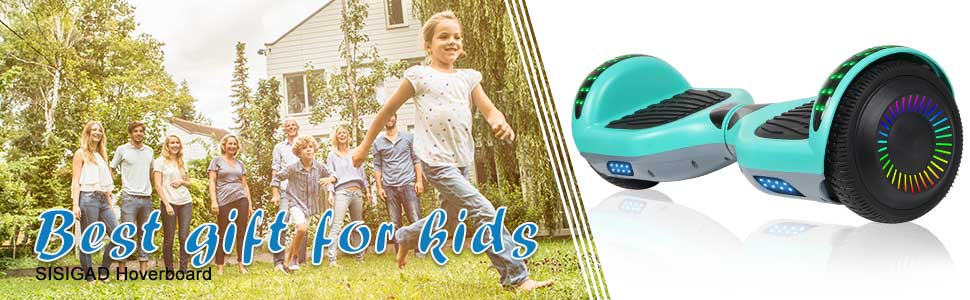 SISIGAD hoverboard: best gift for kids