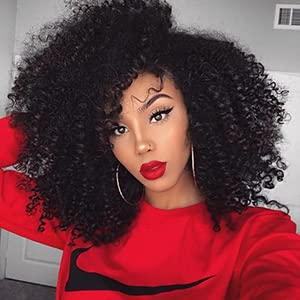 short kinky curly wig