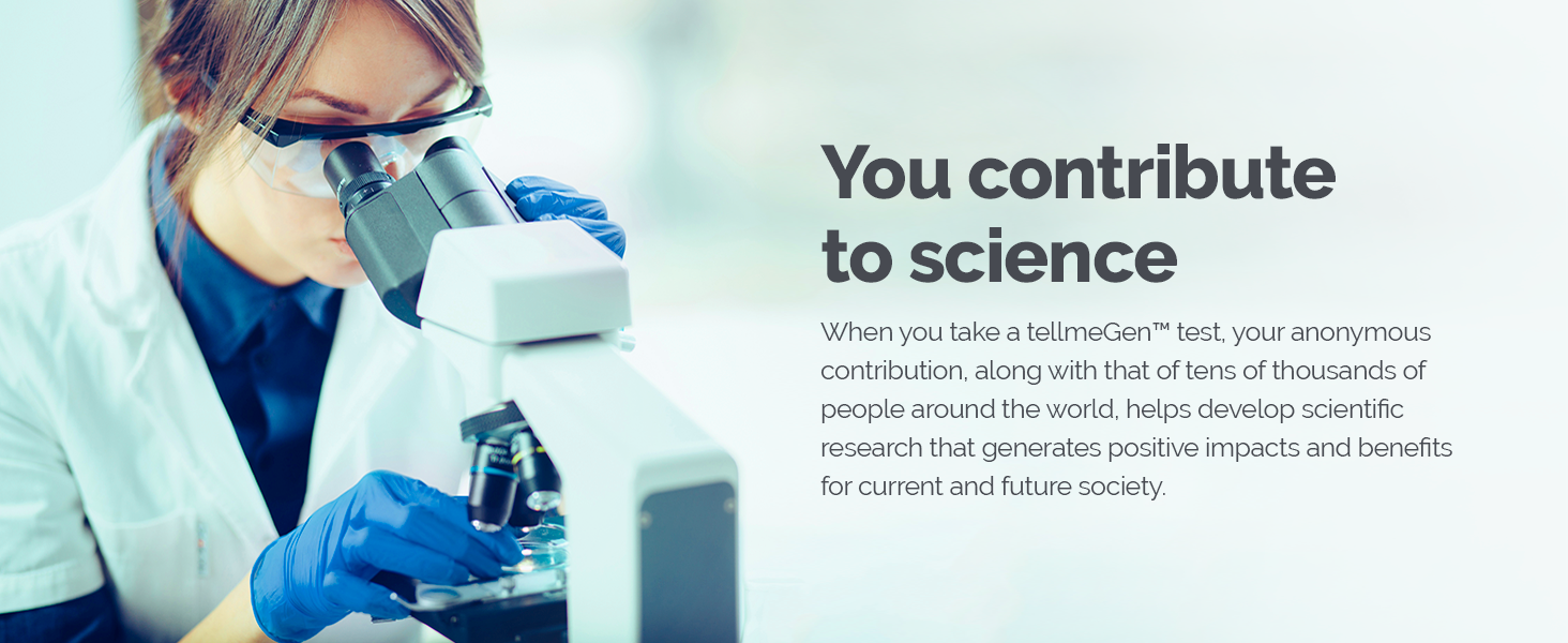 You contribute to science.