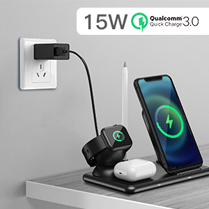 15W QC 3.0 Fast Charging For All Safe with Built-in Smart Chip