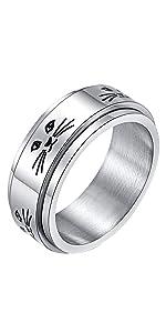 alextina spinner ring for men
