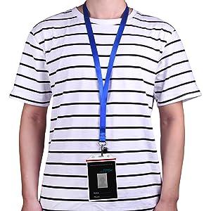Cordon pour porte-badges