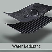 Water resistant toilety bag