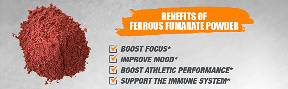 ferrous fumarate, ferrous fumarate powder, ferrous, fumarate