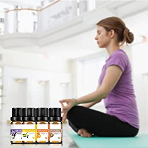 top essential oil set for sporting yoga meditation fitness room
