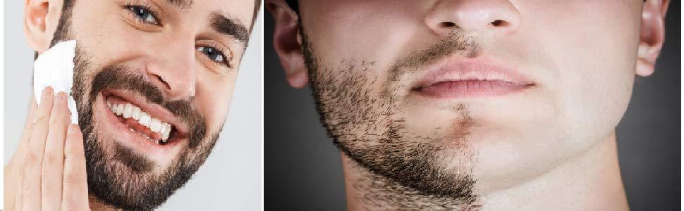 Anself Afeitadora Afeitadora de la Parrilla de Afeitar y Cuchillas ...