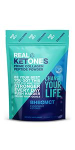 collagen peptides mct oil powder bhb d-bhb salts ketones ketosis keto protein