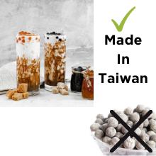 Made in Taiwan J way boba