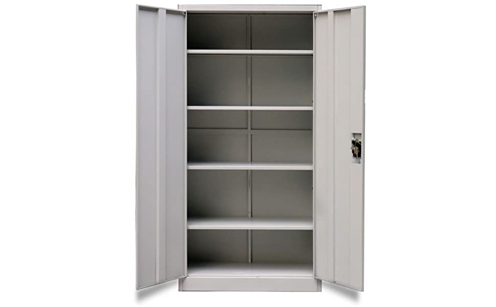 Stratford Metal Cabinet 2 Door 195cm Tall