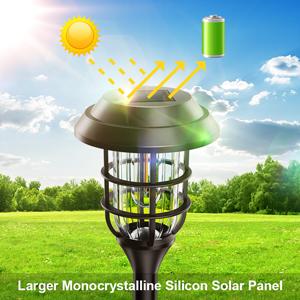 bright solar walkway lights