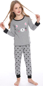 pijama niño gato