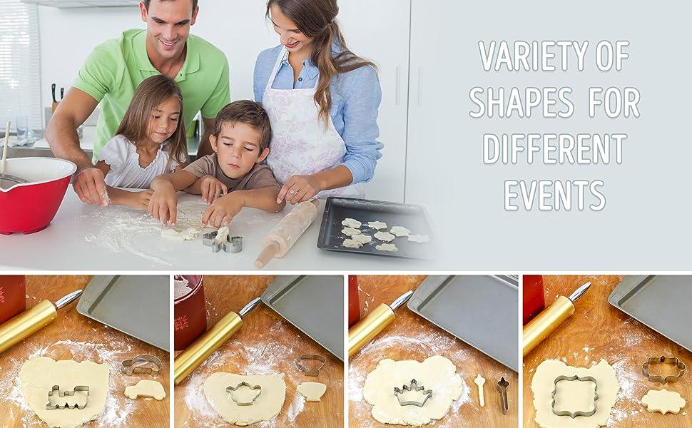 Baking cutters bakerpan cookie cookies omelet sandwich cooking food