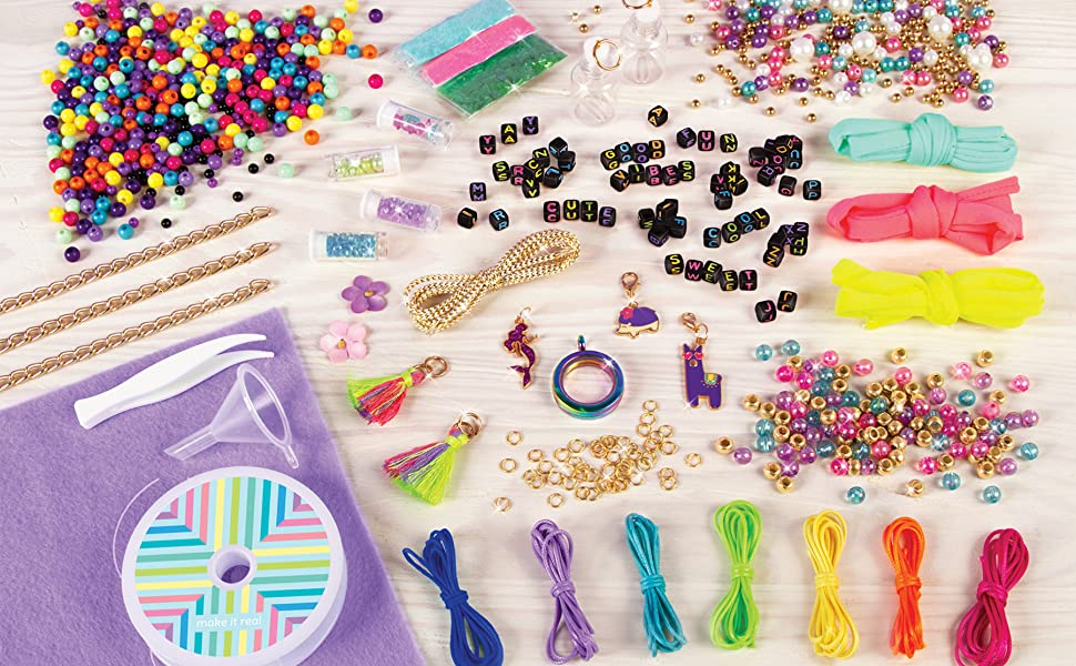 Make it real mega jewelry studio jewelry making kit for tween girls