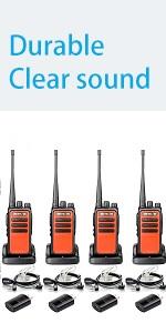 compact walkie talkie